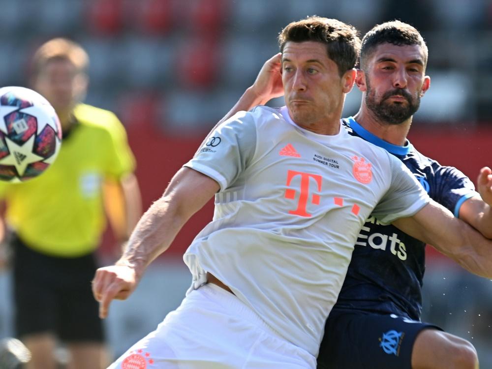 Erfolgreich war das Testspiel der Bayern gegen Marseille. ©SID CHRISTOF STACHE