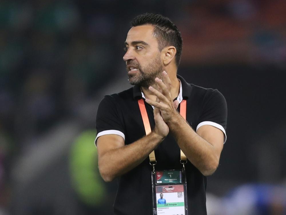 Barca-Legende Xavi verlängert Trainervertrag bei Al-Sadd