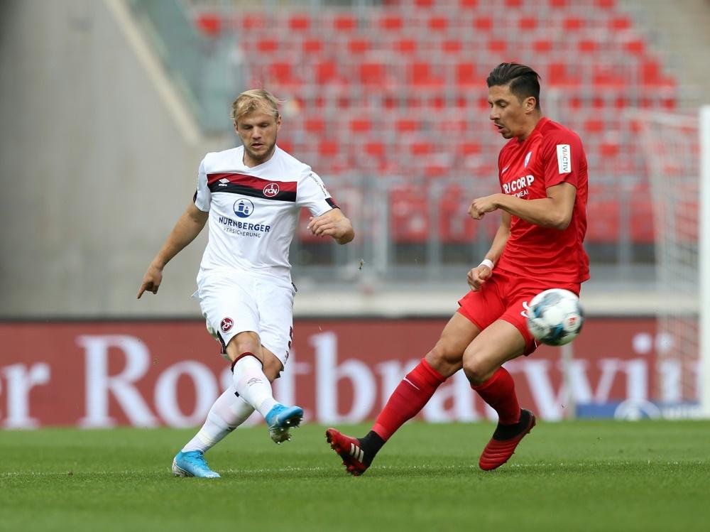 Zweitliga-Relegation: Nürnberg hat zunächst Heimrecht