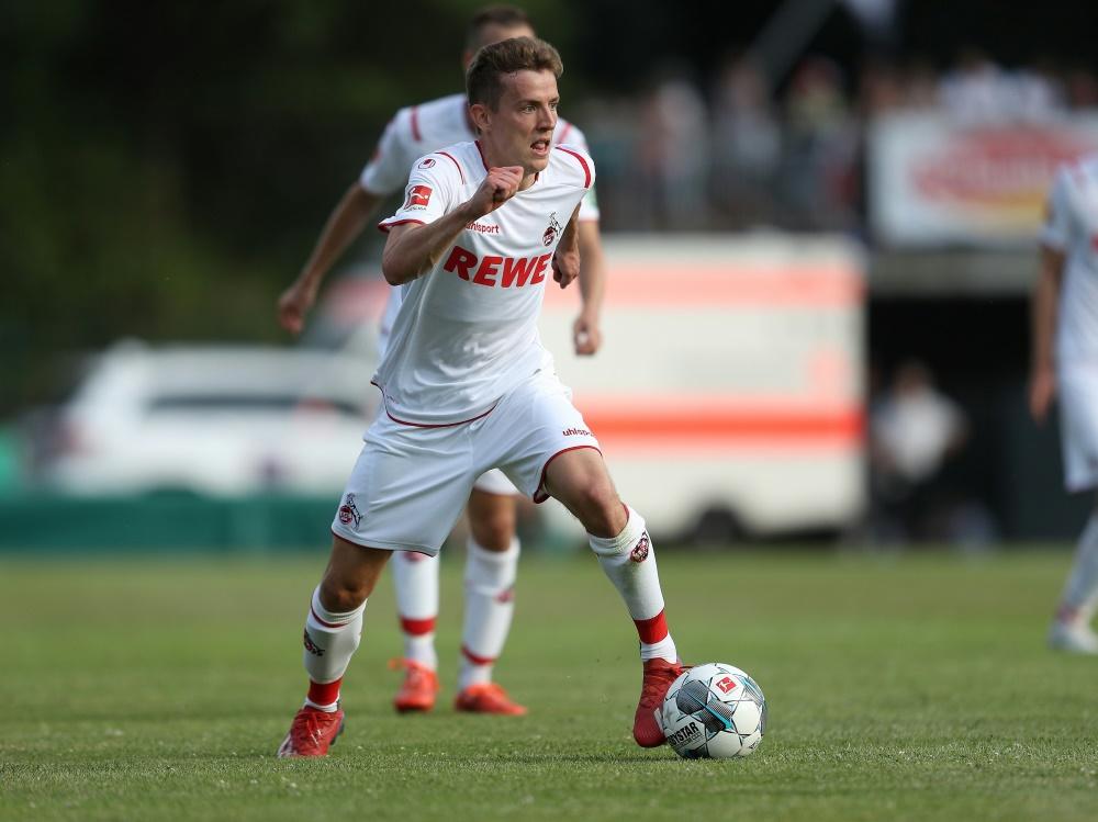 Niklas Hauptmann versucht sein Glück in Kiel. ©FIRO Sportphoto/SID