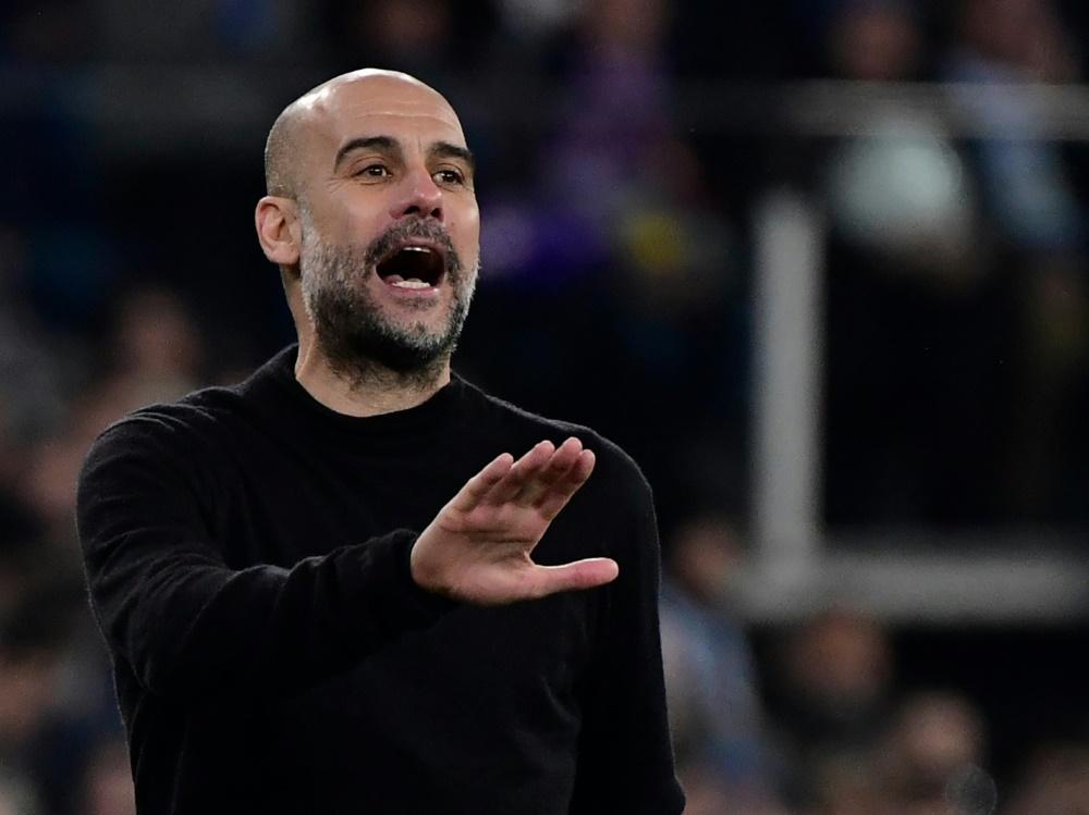 Ohne Champions-League-Sieg unzufrieden: Pep Guardiola. ©SID JAVIER SORIANO
