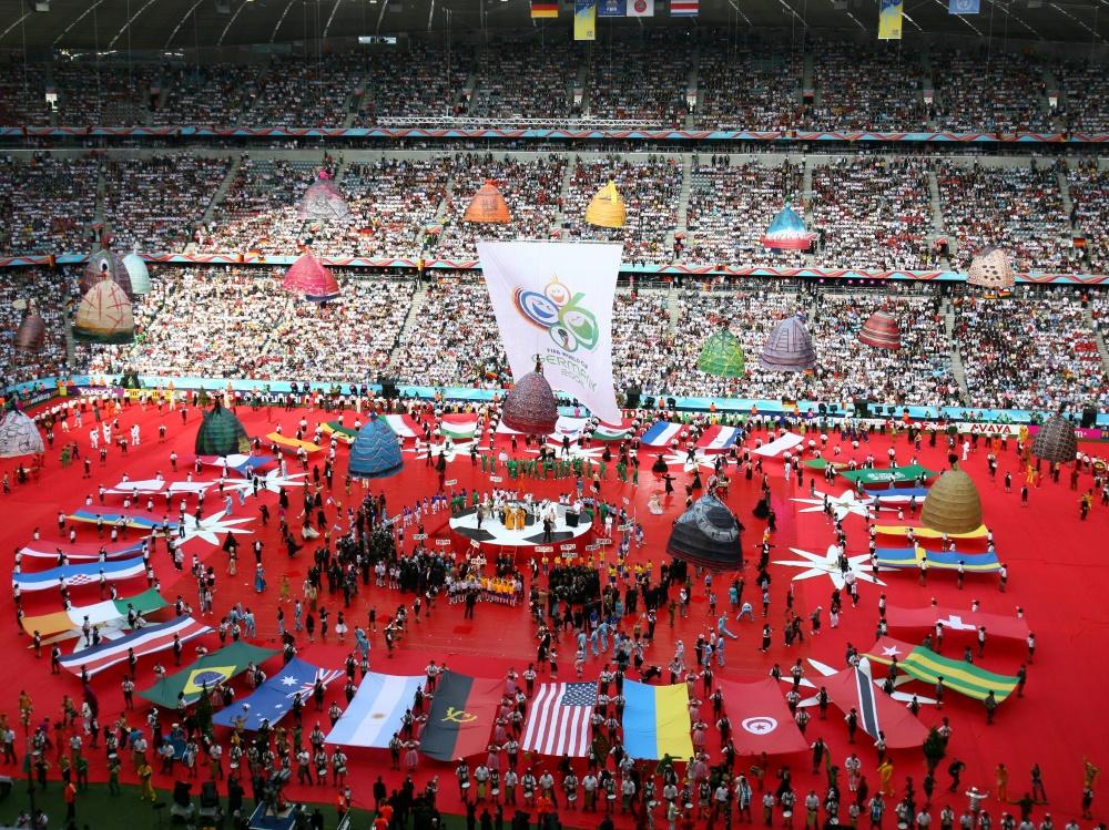 Am 9. Juni 2006 stieg das WM-Eröffnungsspiel in München. ©FIRO/SID