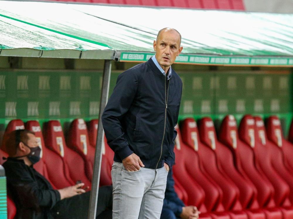 Herrlich bekommt in Augsburg weiteren Co-Trainer und neuen Torwarttrainer