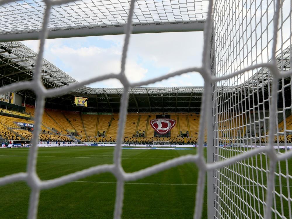 Dynamo Dresden landete vergangene Saison auf Rang 18 . ©FIRO/SID