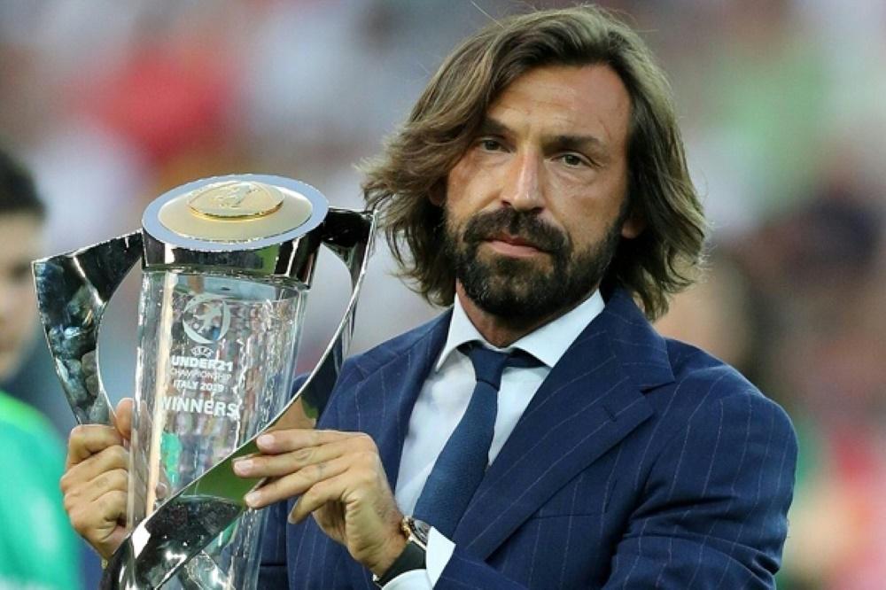 Andrea Pirlo startet seine Trainer-Karriere in Turin. ©FIRO/SID