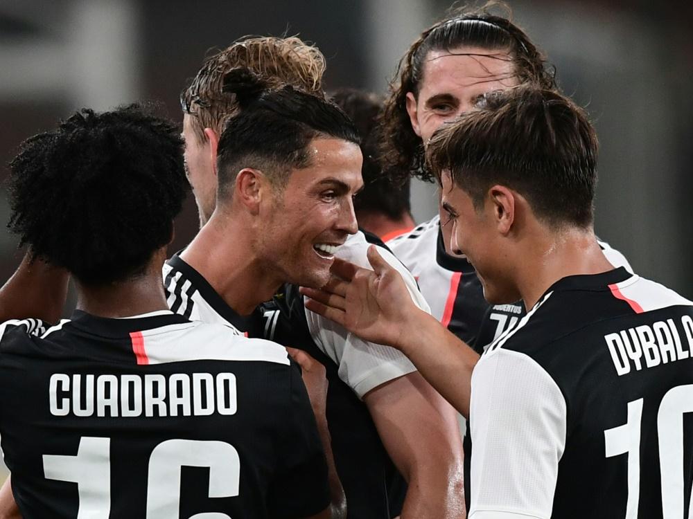 Juve wehrt Lazios Angriff ab und hält Kurs auf den Titel