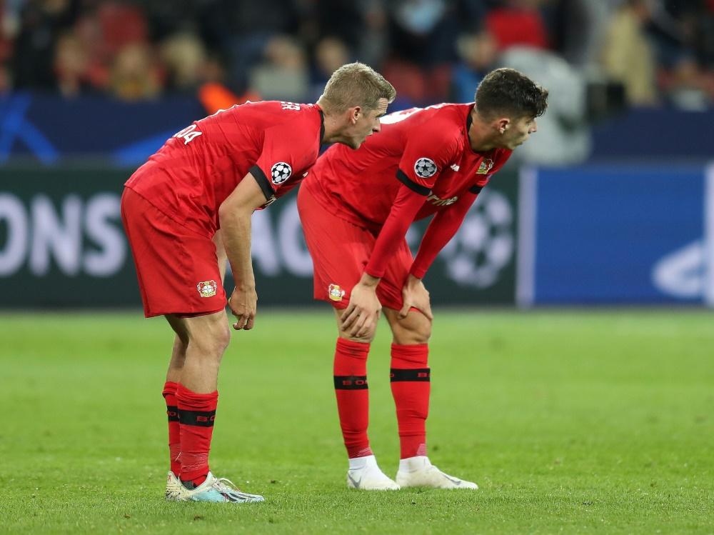 Leverkusen plant für die Europa League fest mit Havertz. ©FIRO/SID