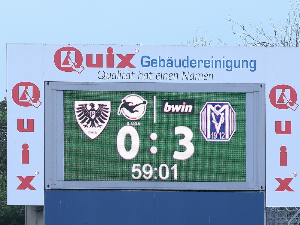 3. Liga: DFB weist Münsters Widerspruch ab