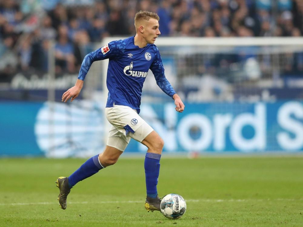 Bleibt vorerst auf Schalke: Eigengewächs Timo Becker. ©FIRO/SID