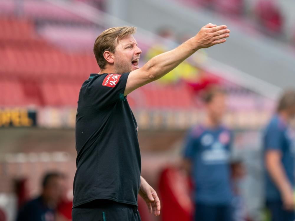 Dankbar über die zweite Chance: Florian Kohfeldt. ©gumz/FIRO/SID
