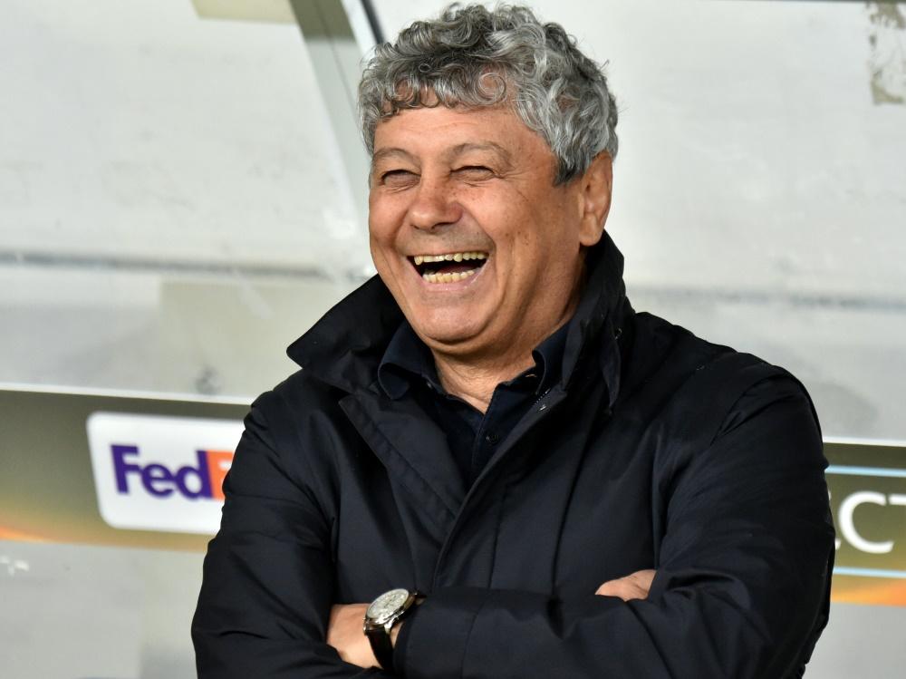 Mircea Lucescu bleibt Dynamo Kiew erhalten. ©SID SERGEI SUPINSKY