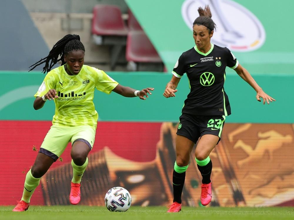 DFB-Pokalfinale: Essenerin Anyomi mit Steißbeinbruch