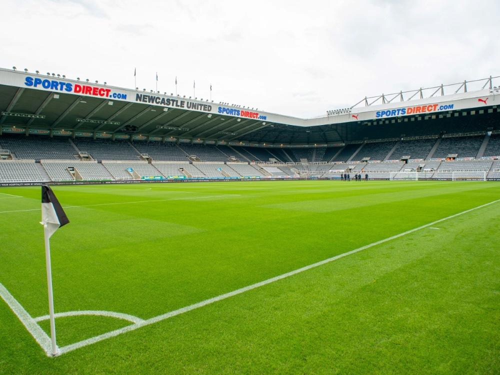 Der St. James's Park - Heimat von Newcastle United. ©FIRO/SID