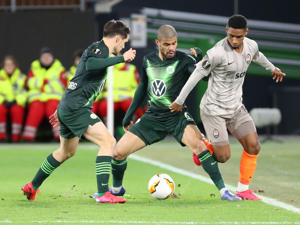 EL: Wolfsburg spielt in Kiew gegen Donezk