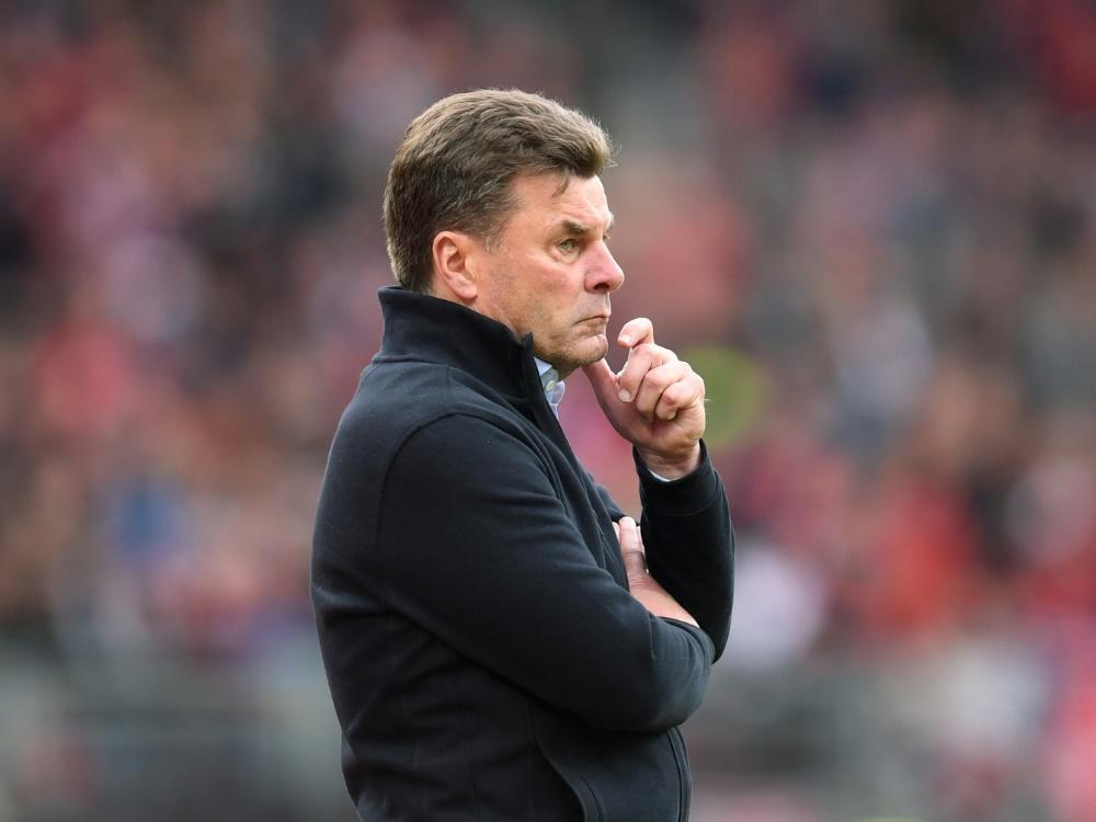 """Hecking nach HSV-Trennung: """"Sehe mich als Erstliga-Trainer"""""""