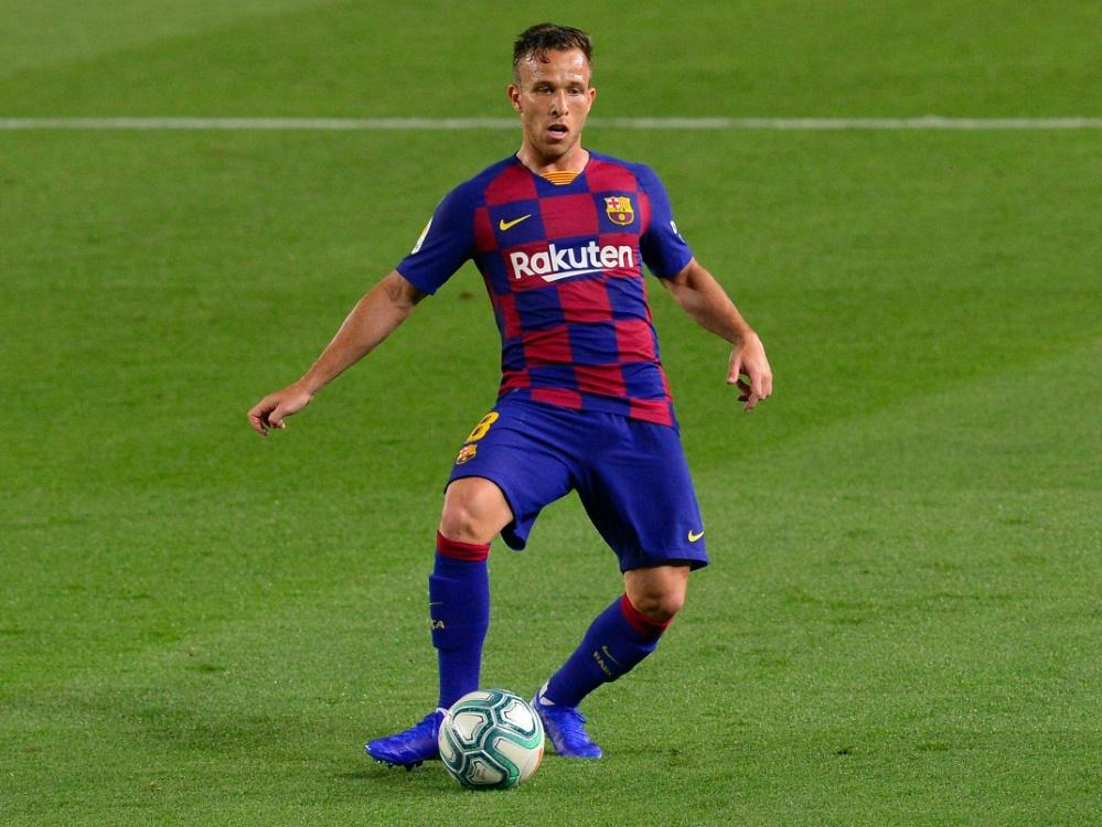 Arthur wechselt zum 1. September zu Juventus Turin. ©SID PAU BARRENA