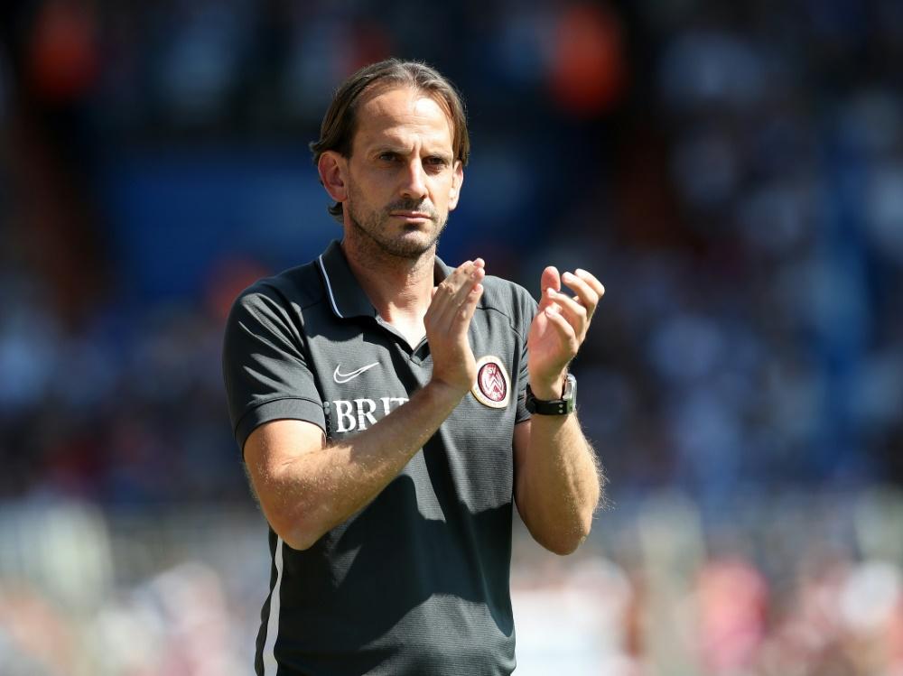 Rehm bleibt trotz Abstieg Trainer in Wehen