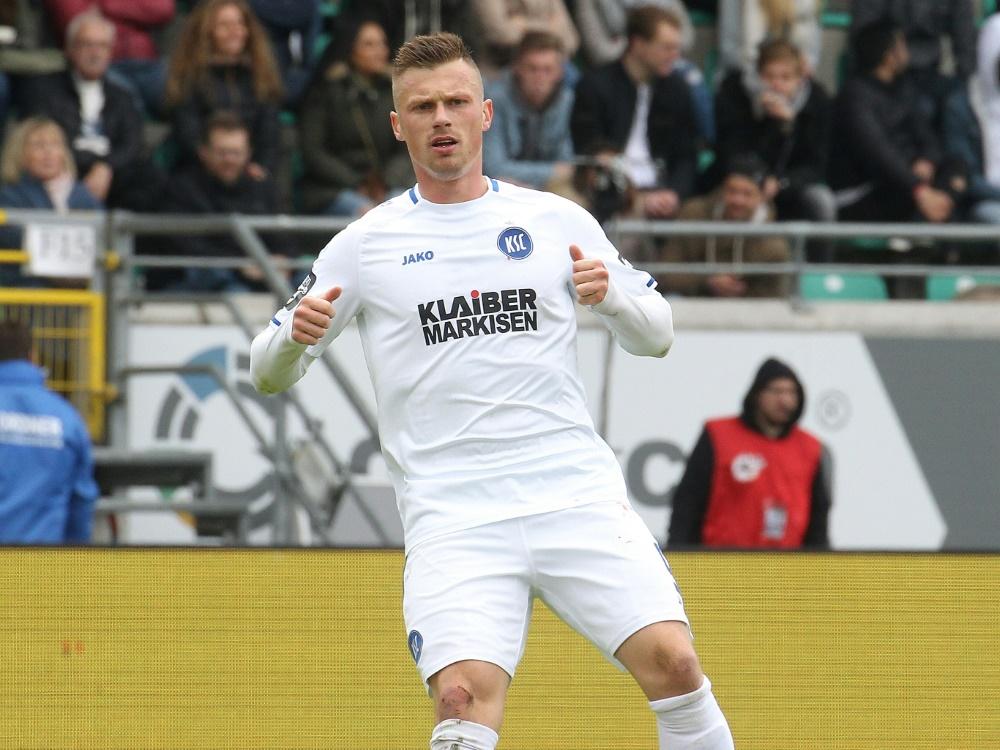 Kaiserslautern leiht Marvin Pourie aus. ©FIRO/SID