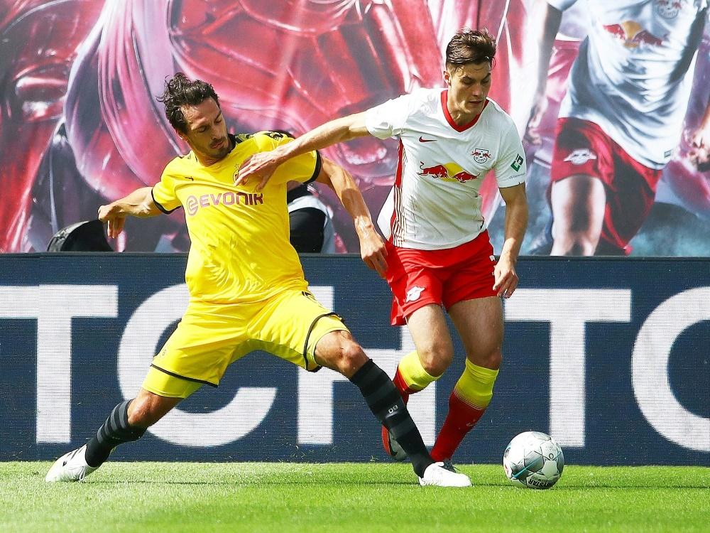 Patrick Schick spielte letzte Saison für RB Leipzig. ©FIRO/SID