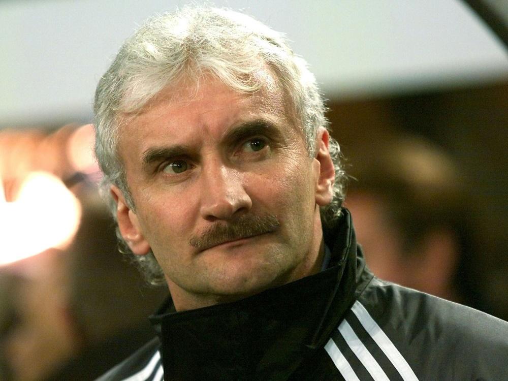 Völler gab am 16. August 2000 sein Bundestrainer-Debüt. ©SID FRANCK FIFE