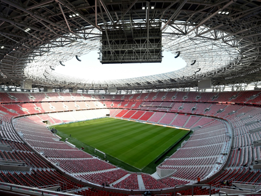 Der Supercup findet im Ferenc-Puskas-Stadion statt. ©SID ATTILA KISBENEDEK