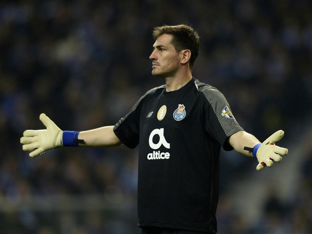 Iker Casillas beendet mit 39 Jahren seine Karriere. ©SID MIGUEL RIOPA