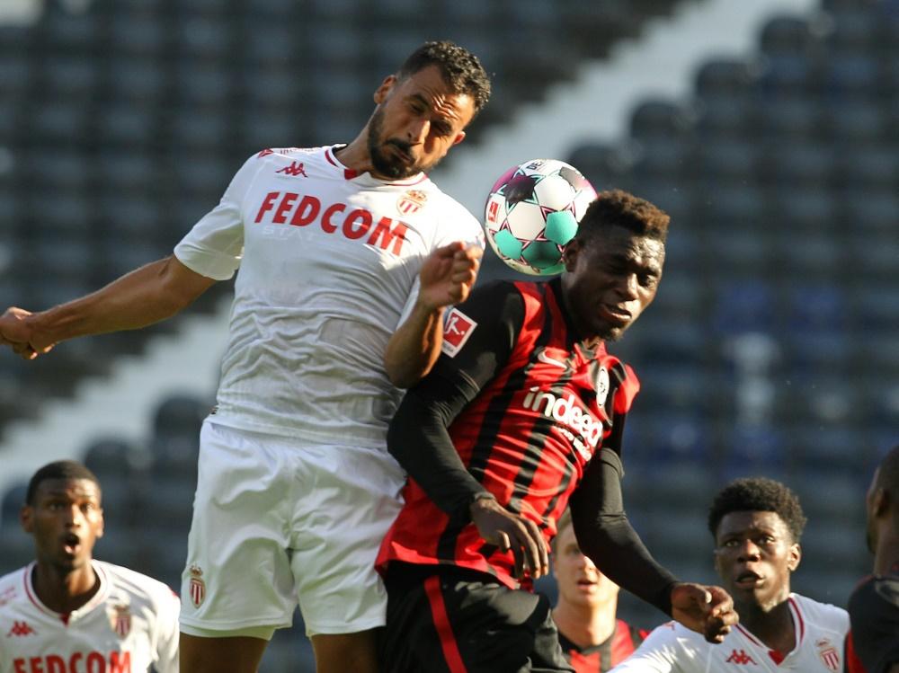 Unentschieden trennten sich Frankfurt und Monaco. ©SID DANIEL ROLAND