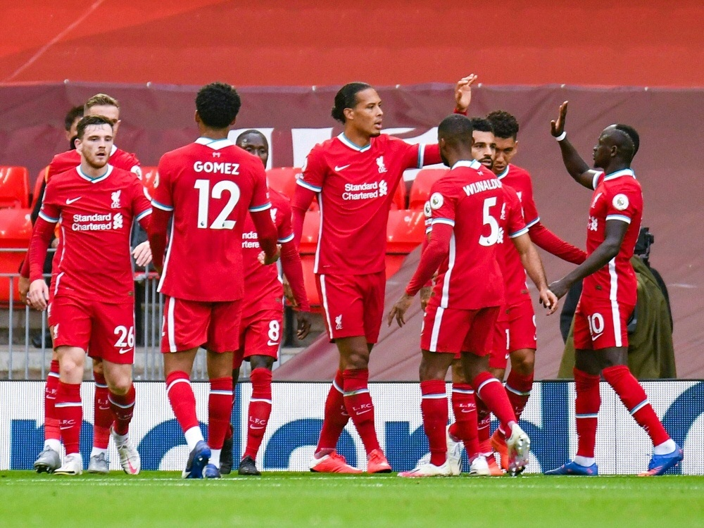 Der FC Liverpool gewann auch das dritte Spiel. ©FIRO/SID