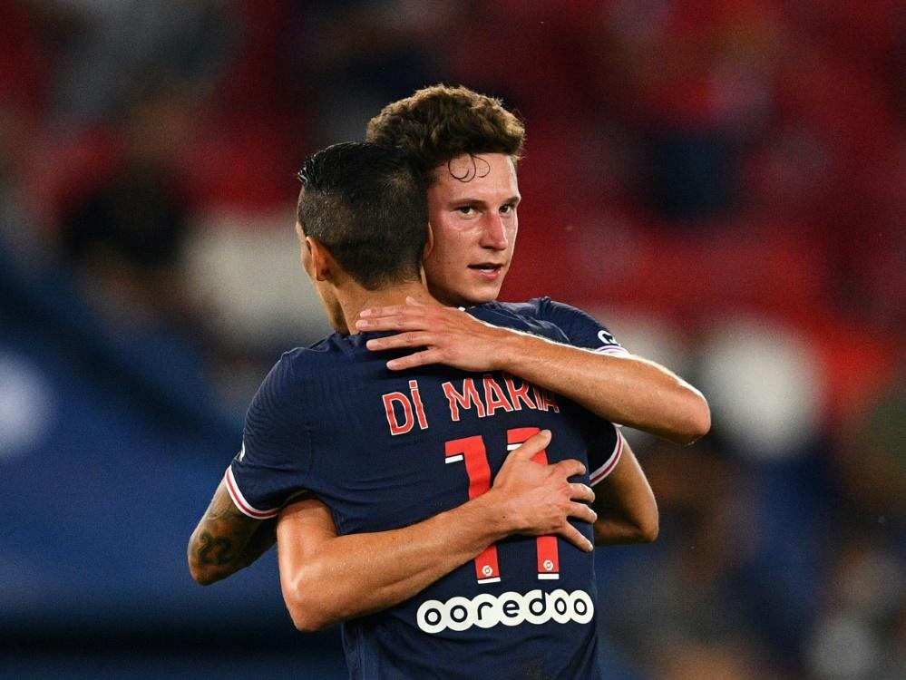 Julian Draxler köpfte PSG zum ersten Saisonsieg. ©SID FRANCK FIFE