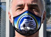 Medien: Italiens Fußballverband will transparente Masken für Fans