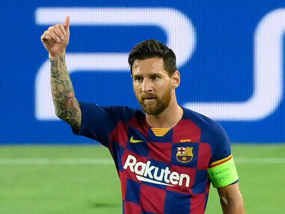 Bleibt nun doch in Barcelona: Lionel Messi. ©SID LLUIS GENE