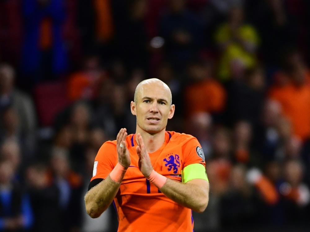 Comeback nicht ausgeschlossen: Arjen Robben . ©SID EMMANUEL DUNAND