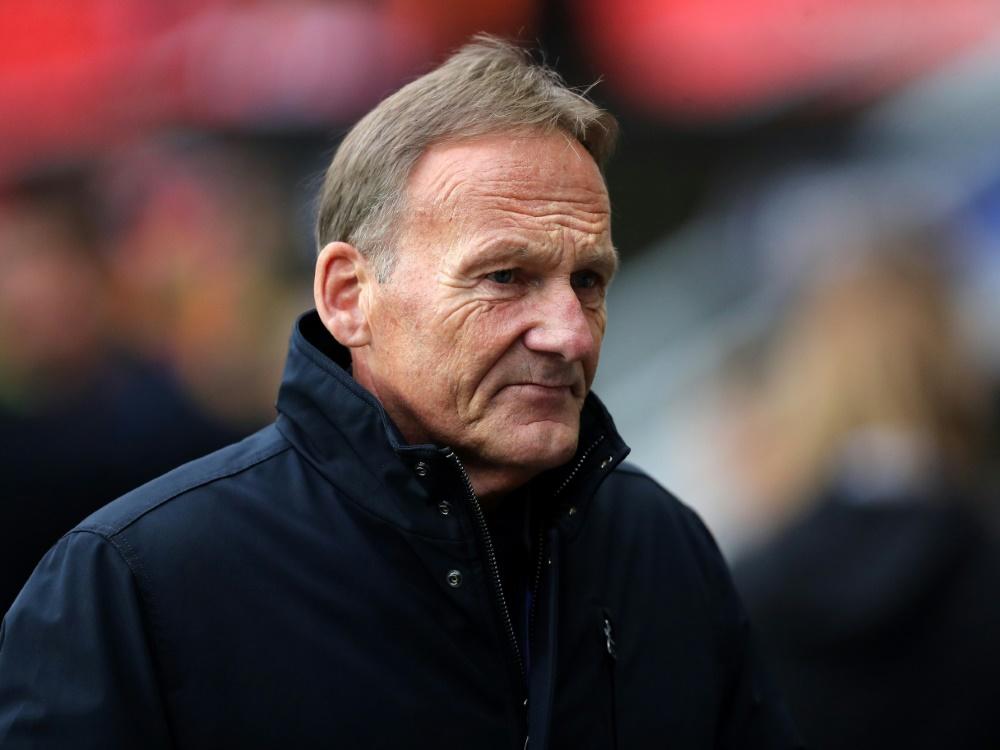 BVB-Geschäftsführer: Hans-Joachim Watzke. ©FIRO/SID