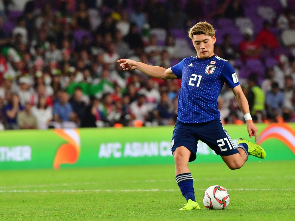 Doan spielt ebenfalls für Japans Nationalmannschaft. ©SID GIUSEPPE CACACE