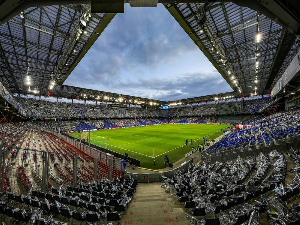 Aktuell sind nur 3000 Zuschauer zugelassen. ©FIRO/SID