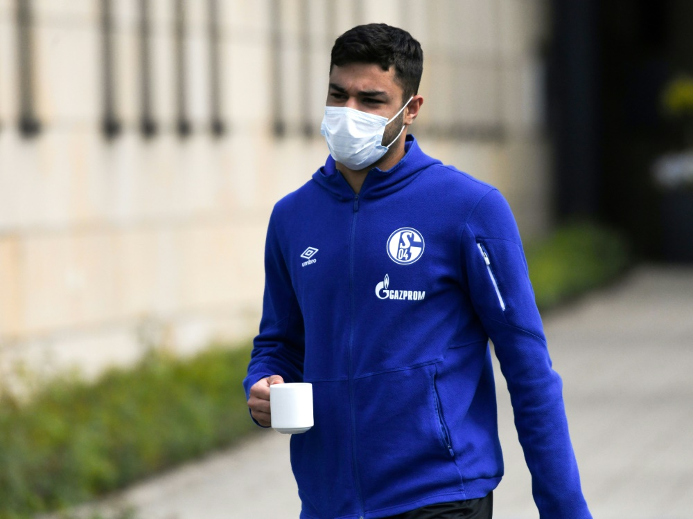 Kabak fehlt Schalke nach Spuckattacke lange. ©SID INA FASSBENDER