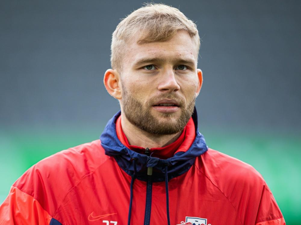 Laimer von RB Leipzig wird Mitglied bei Common Goal . ©FIRO SPORTPHOTO/SID
