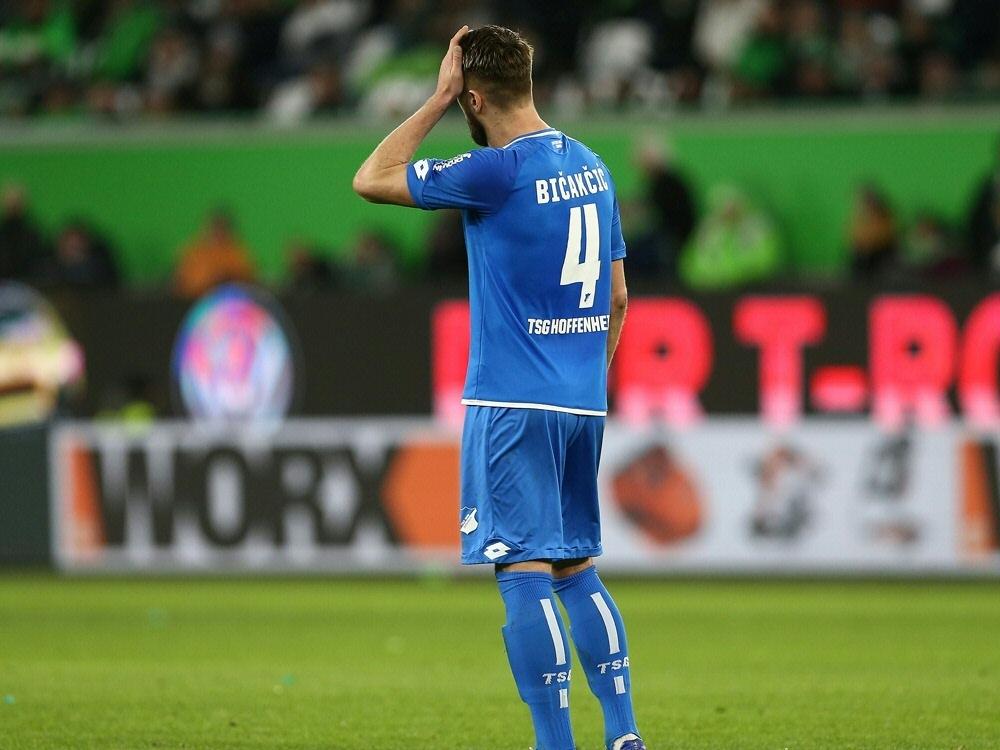 Bicakcici traf vor seiner Verletzung zum 1:0 für die TSG. ©FIRO/SID