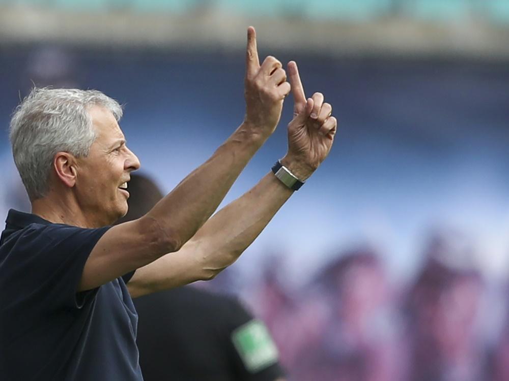 Lucien Favre ist seit 2018 Trainer von Borussia Dortmund. ©SID RONNY HARTMANN