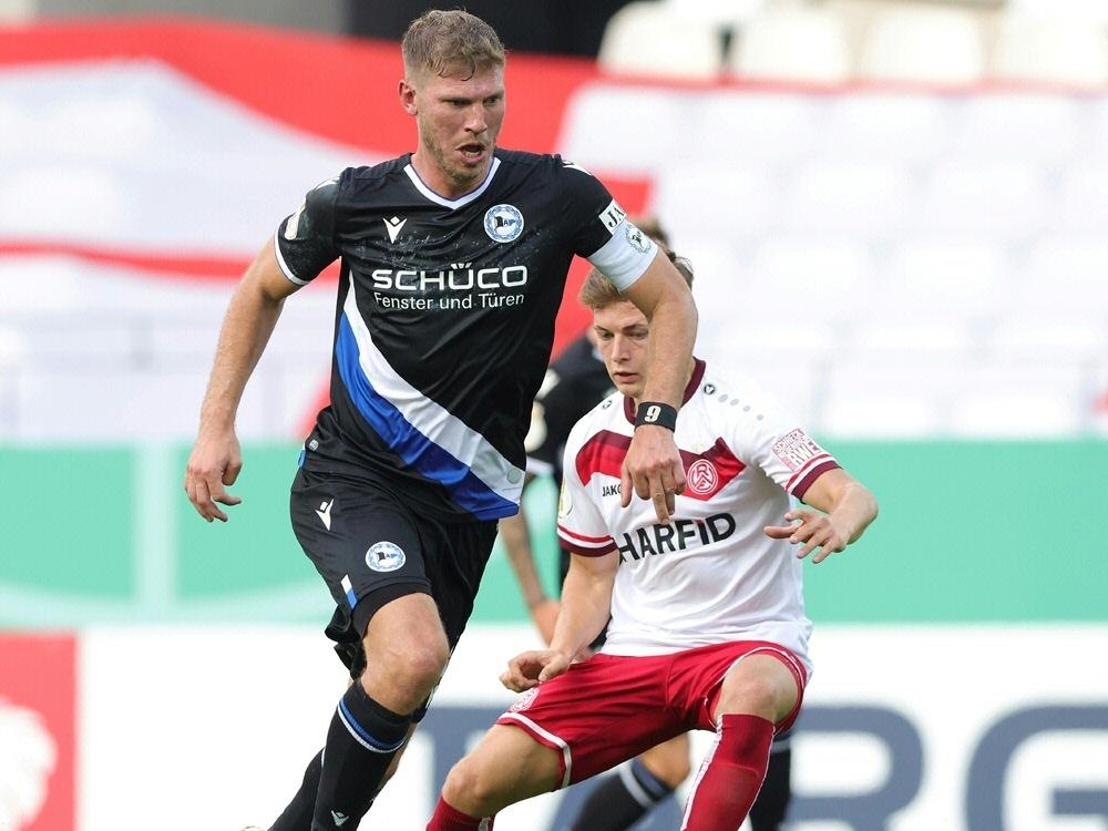 Fabian Klos und Bielefeld scheitern an Rot-Weiss Essen. ©FIRO/SID