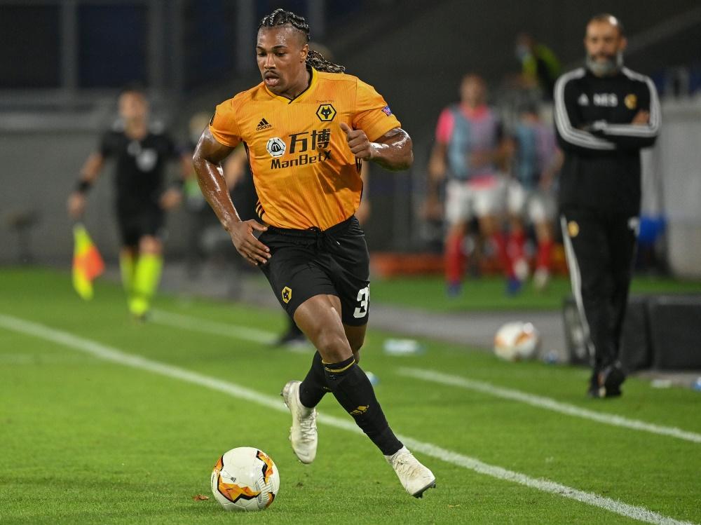Adama Traore reist vorerst nicht zur Nationalmannschaft. ©SID INA FASSBENDER