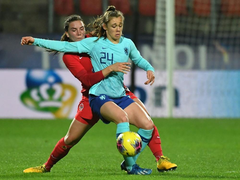 Joelle Smits (Nr. 24) unterschreibt beim VfL bis 2024. ©SID DENIS CHARLET