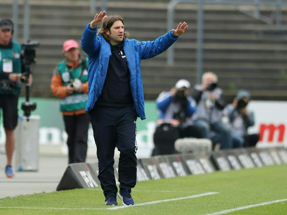 Trainer Torsten Frings gewann mit Meppen. ©FIRO/SID