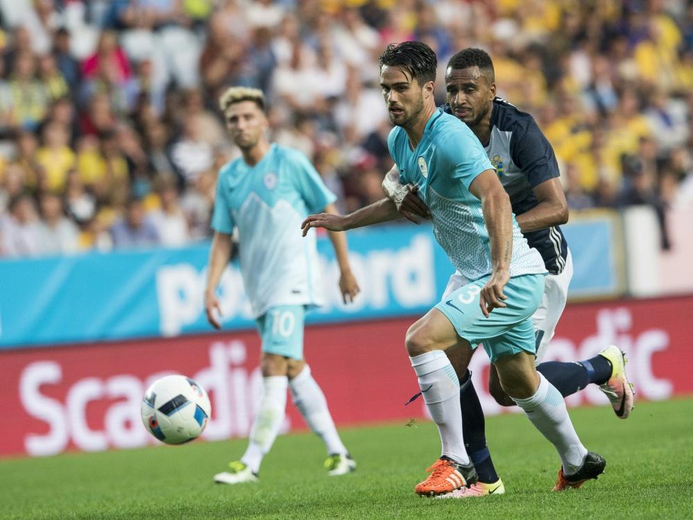 Der Slowene Luka Krajnc wechselt zu Fortuna Düsseldorf. ©SID JONATHAN NACKSTRAND
