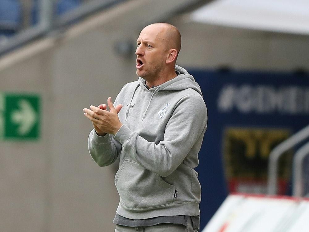 MSV-Coach Torsten Lieberknecht will den Pokal-Coup. ©FIRO Sportphoto/SID