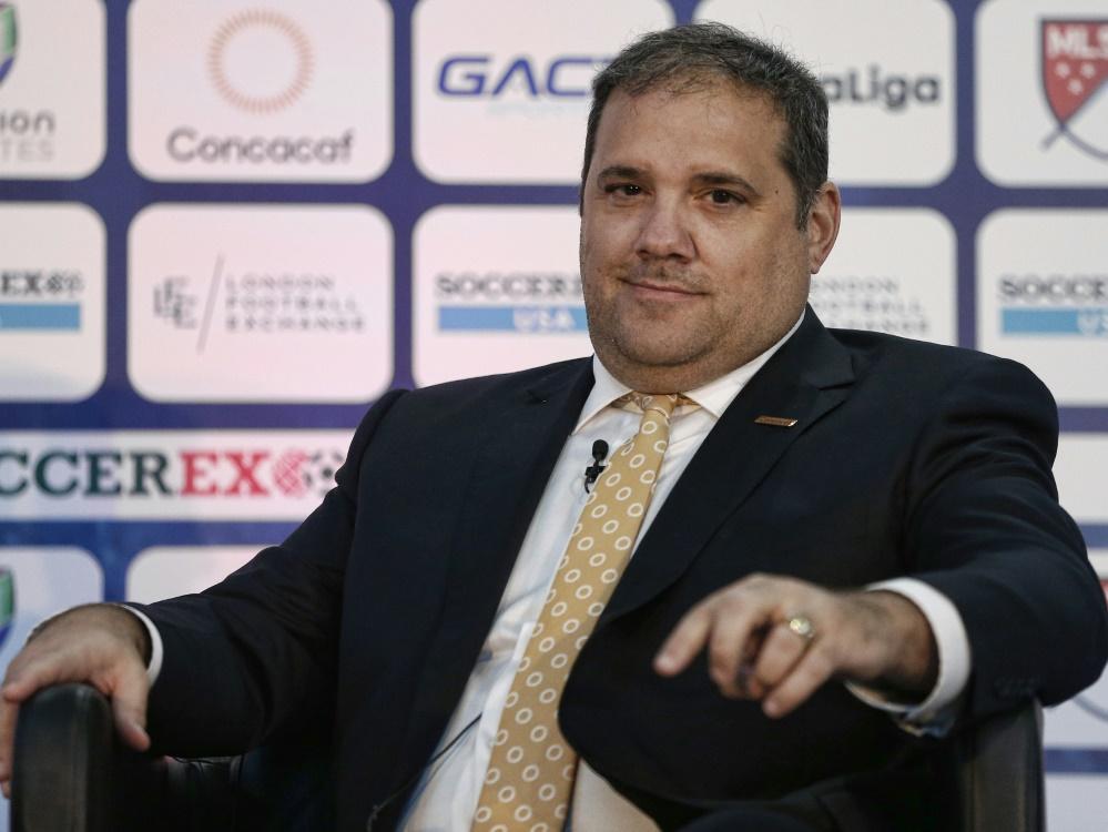 Victor Montagliani freut sich auf das Turnier mit Katar. ©SID RHONA WISE