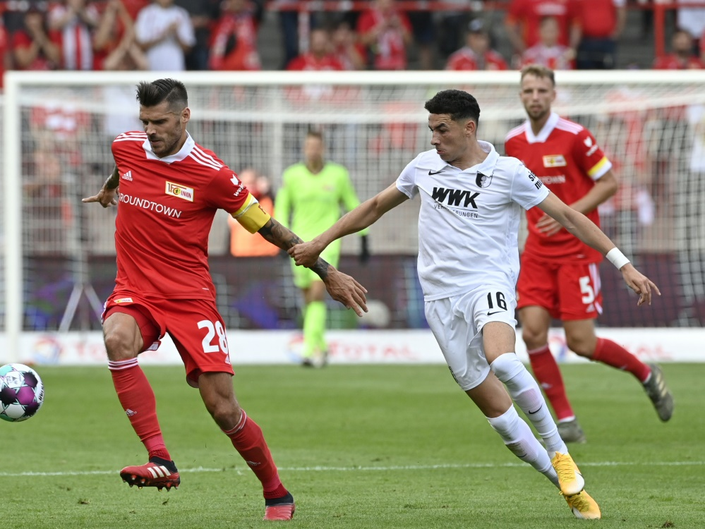 Union Berlin unterliegt dem FC Augsburg 1:3. ©SID JOHN MACDOUGALL