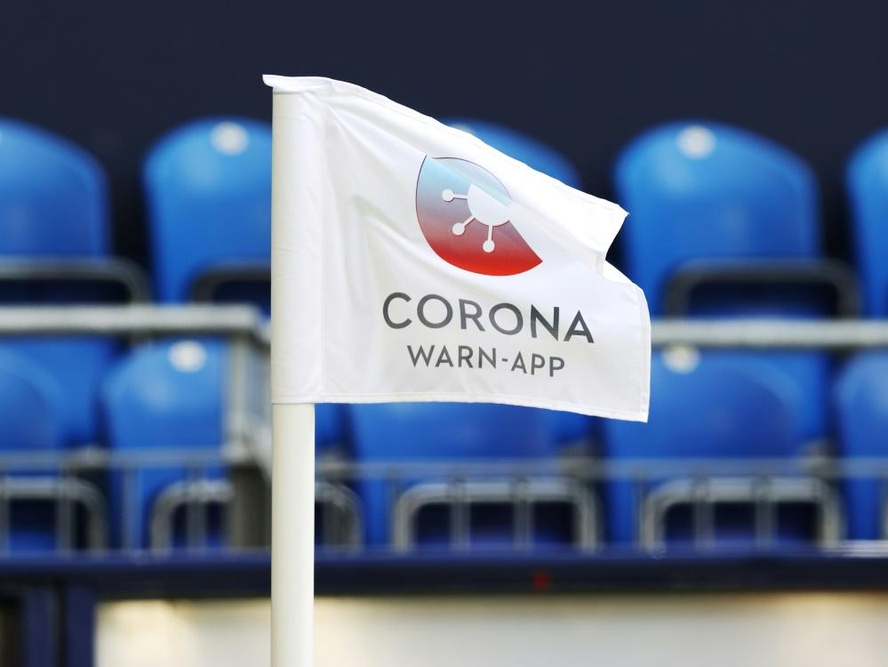 Drittligist Waldhof Mannheim vermeldet zwei Coronafälle. ©FIRO/SID