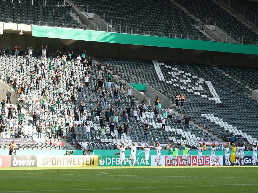 Für das Spiel gegen Union Berlin gibt es noch Tickets. ©FIRO/SID