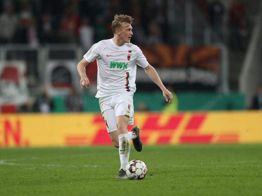 Georg Teigl verlässt den FCA in Richtung Wien. ©FIRO/SID